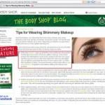 NOTE   artistrhi on The Body Shop Blog!