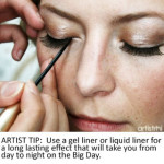 RHIA ON TWP | DIY Bridal Beauty – Making Eyeliner Go the Distance