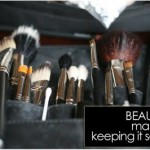 BEAUTY 101 | make-up, keeping it sanitary.