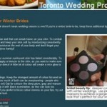 RHIA ON TWP | Beauty Tips for Winter Brides