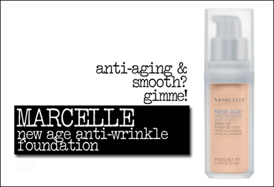 Marcelle new age anti-wrinkle foundation