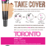 BEAUTY NOTE | CoverFx Flash Mob Toronto Event