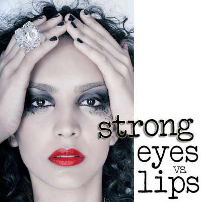 Strong Eyes & Lips