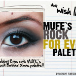 HOLIDAY PRODUCT REVIEW | Make-up Forever's Rock For Ever Eyeshadow Palette