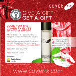 BEAUTY BUZZ | Reminder: @CoverFX Give-A-Gift Get-A-Gift Event