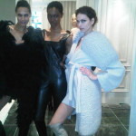 ARTISTRHI UPDATES | Backstage with Plutino Group for Mikhael Kale + Mark Fast FW011