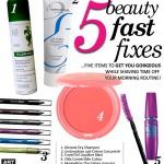 ARTIST TIP | Five Beauty Fast Fixes