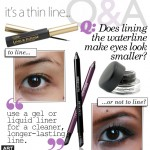 Q & A | Tips for Lining the Waterline (Asian Eyes)
