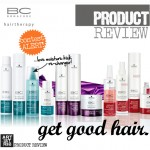 PRODUCT REVIEW   Schwarzkopf's BC Hairtherapy + Contest Alert!
