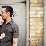 ENGAGED | Kim + Alex by Claudia Hung