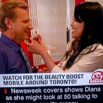 ARTISTRHI UPDATES | Diet Coke Beauty Boost Mobile on CP24 Breakfast!