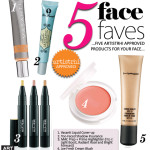 PRODUCT REVIEW | Five Face Faves