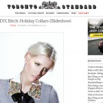 EDITORIAL | Ride or DIY, Bitch:  Holiday Collars via the Toronto Standard