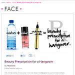 ARTIST TIP | Beauty Prescription for a Hangover