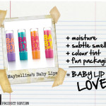 PRODUCT REVIEW | Maybelline's Baby Lips Love