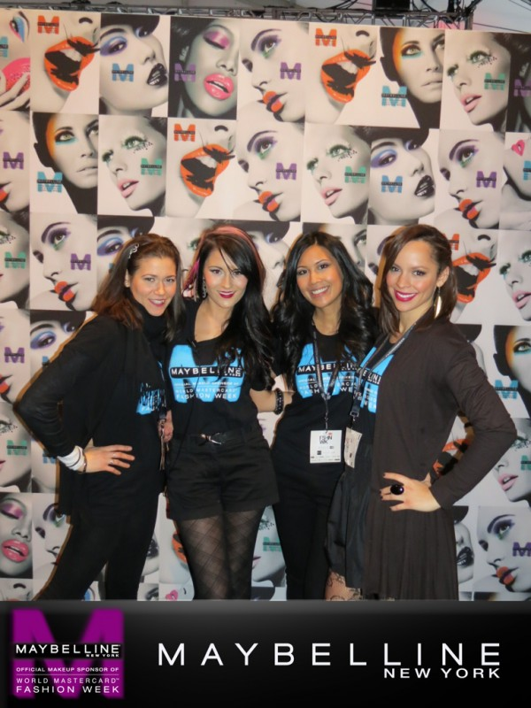BEAUTY BUZZ   Last Day at WMC Fashion Week with @MaybellineCan!
