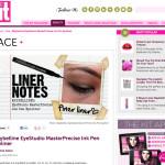 UPDATES | Finer Liner Notes with @MaybellineCan's EyeStudio MasterPrecise Ink Pen Eyeliner