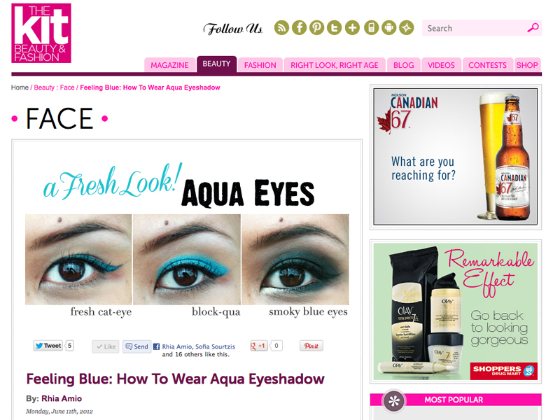 Aqua Eyes with The Kit x artistrhi