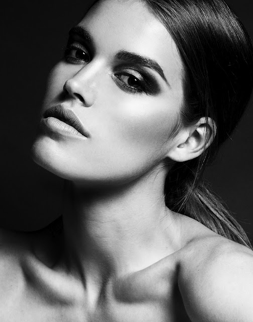 Britt Elmer Olsen.  Make-up + Hair by Rhia Amio. Photo by Sam Assam
