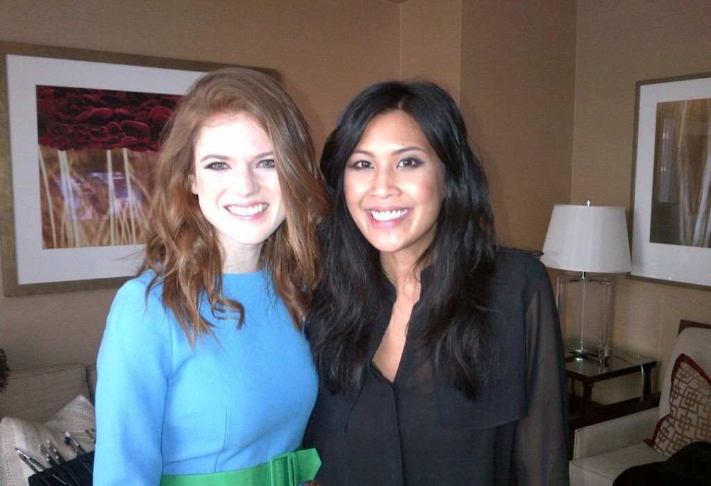 Make-up + Hair for Rose Leslie, Ygritte of Game of Thrones by Rhia Amio www.rhiaamio.com