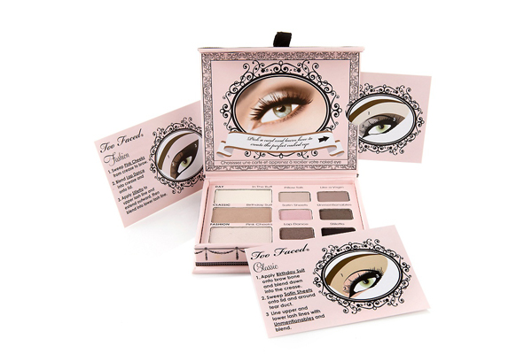 Too Faced Naked Eye Collection for a Glam Bridal Beauty Look