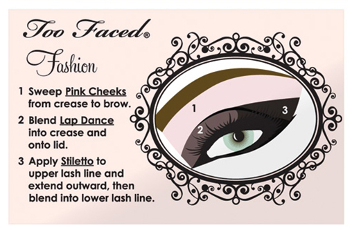 How to do a Glam Eye with Too Faced's Naked Eye Collection