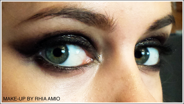 Glossy Eye Make-up Tips by Rhia Amio Toronto Make-up and Hair Artist