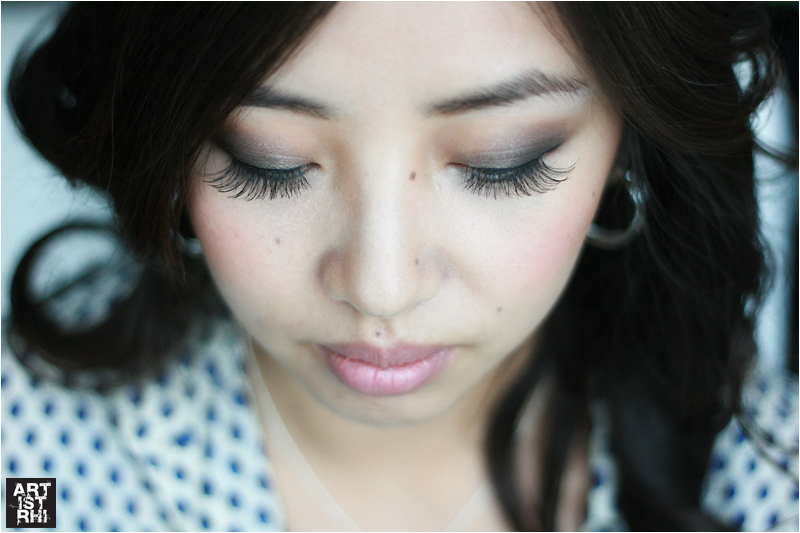 Ardell Lashes in Demi Luvlies featured in Before and After by Rhia Amio artistrhi make-up and hair