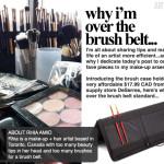 ARTIST TIP | Why I'm Over the Brush Belt