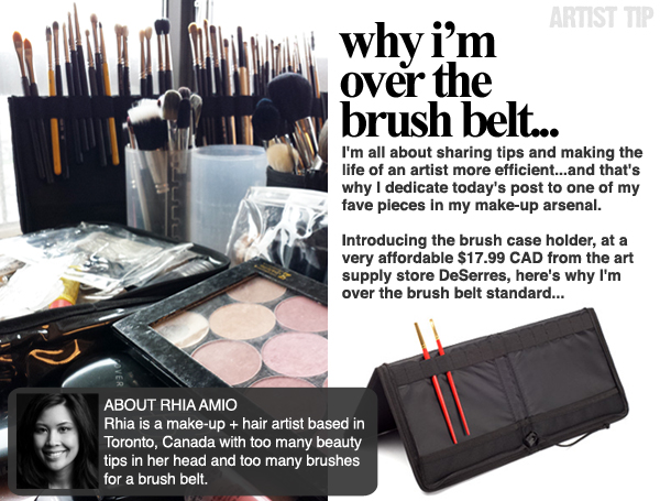 ARTIST TIP | Why I'm Over the Brush Belt