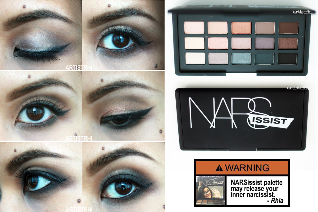 NARS NARSissist Palette Review by Toronto Make-up and Hair Artist Rhia Amio