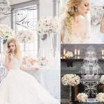 WEDDING   Frozen In Love by Blue Lavender Events on WedLuxe