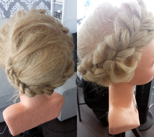oversized braided crown