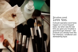 ARTIST TIP | Spring Clean Your Beauty Routine