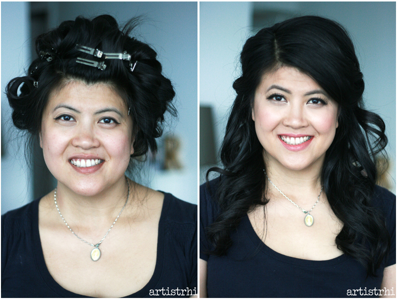 before and after bridal beauty artistrhi toronto makeup hair rhia amio
