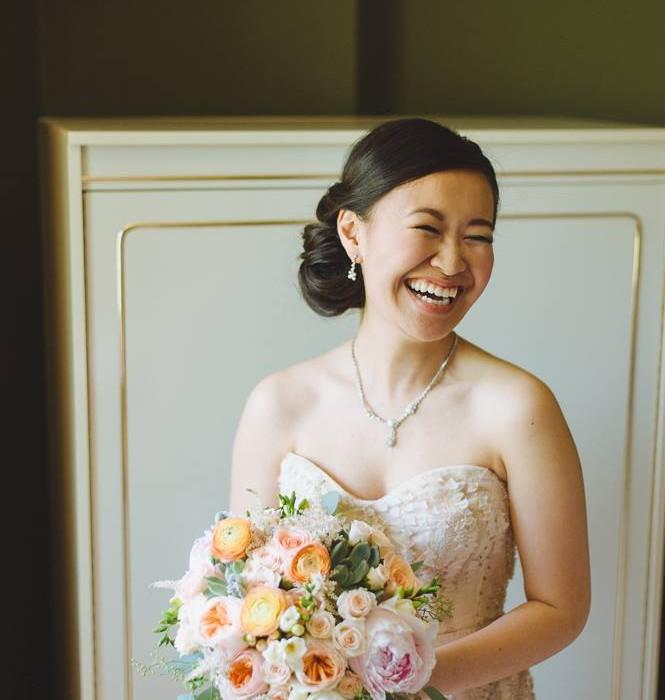 Bridal Beauty by Toronto Make-up Hair Artist Rhia Amio artistrhi wedding
