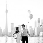 ENGAGED | Valeria + Jeremy by Lucy Chang Photography featured on Wedding Obsession